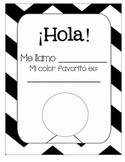 Spanish Hola Me Llamo worksheet