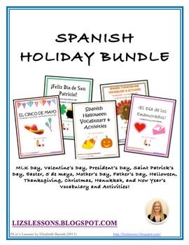 Spanish Holiday Bundle!