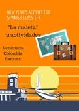 Freebie! Spanish Holiday New Year's Cultural Activity- La Maleta