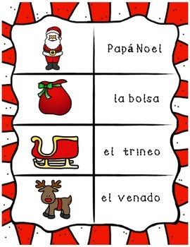 Spanish Holiday Vocabulary Flashcards