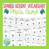 Spanish Christmas Activity | Spanish Holiday Vocabulary Pesca Go Fish Game