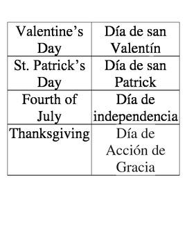 Spanish Holidays
