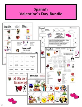 Spanish Holidays Mega Bundle of 3: Valentine's, St. Patrick's, and Easter