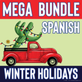 Spanish Holidays Vocabulary MEGA Bundle.  Los Reyes Magos y Vocabulario