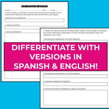 Spanish Holidays and Festivals: Video Webquest