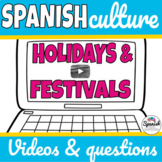 Spanish Holidays and Festivals: Video Webquest