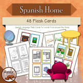 Spanish Home Flash Cards