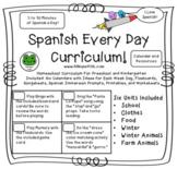 Spanish Homeschool Curriculum - Preschool and Kindergarten