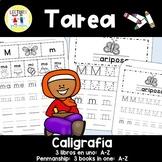 Spanish Homework - Penmanship - TAREA Caligrafía A-Z
