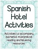 Spanish Hotel IPA-Style Activities