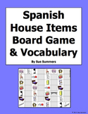 Spanish House Board Game and Vocabulary