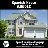 Spanish House Bundle: 3rd to 6th Grade - PRESALE (Growing Bundle)