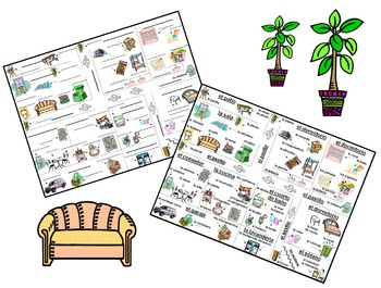 Spanish House Bundle of 14 - 64 Pages of Worksheets, Games, PowerPoint