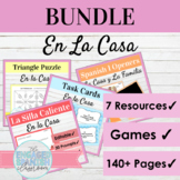 Spanish House Chores and Prepositions Bundle