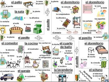 Spanish House Diagram And Labeling Activity La Casa By Sue Summers. Spanish House Diagram And Labeling Activity La Casa. Wiring. A Diagram Of A House Spanish At Scoala.co