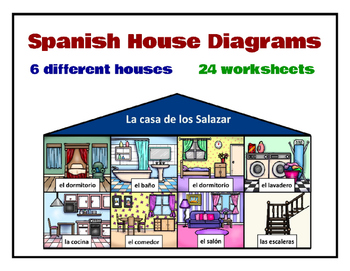 Spanish House Diagrams