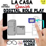 Spanish House Digital Vocabulary: LA CASA