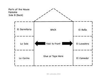 Spanish House Fold-It