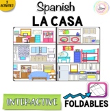 Spanish Distance Learning LA CASA House Interactive Notebook
