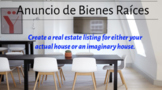 Spanish House Project Real Estate Listing Digital Assignment