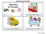 Spanish House - ¿Qué Hay en Tu Casa? 2 Emergent Reader Booklets