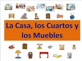Spanish House, Room & Furniture Powerpoint (Activities and Games)