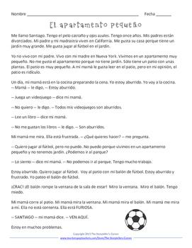 Spanish House Story - El apartamento pequeño