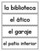 Spanish House: Word Wall in Spanish
