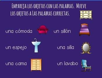 Spanish House and Chores PowerPoint and Curriculum