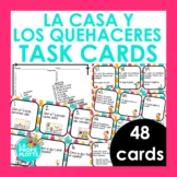 Spanish House and Chores Task Cards