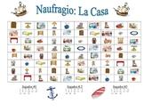 Spanish House and Furniture Speaking/Writing  Activity (Naufragio)