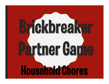 Spanish Household Chores Brickbreaker Game