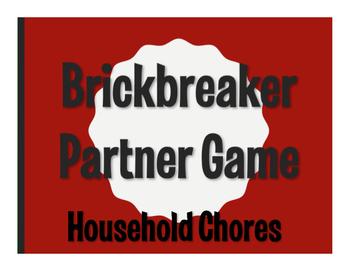 Spanish Household Chores Brickbreaker Game