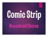 Spanish Household Chores Comic Strip