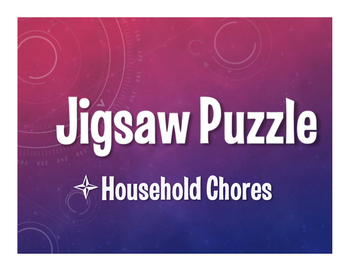 Spanish Household Chores Jigsaw Puzzle