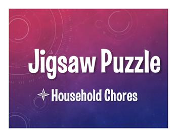 Spanish Household Chores Jigsaw Puzzle