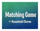 Spanish Household Chores Matching Game