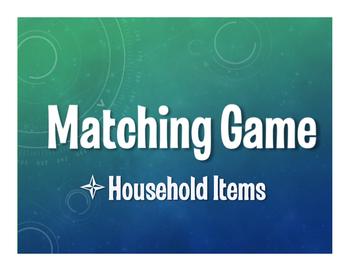 Spanish Household Items Matching Game