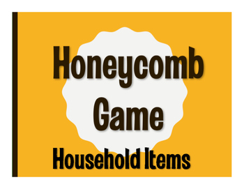 Spanish Household Items Honeycomb Game