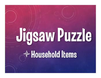 Spanish Household Items Jigsaw Puzzle