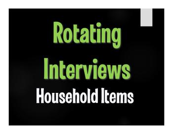 Spanish Household Items Rotating Interviews
