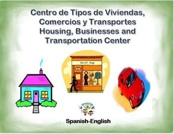 Spanish Housing, Businesses and Transportation/ Viviendas, Negocios y Transporte