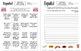 Spanish Human Bingo Games Speaking and Written Follow-up Mega Bundle of 28