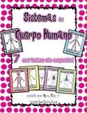 Spanish Human Body System Posters - Sistemas del Cuerpo Humano 7 carteles