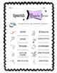 Spanish Hygiene Words Worksheet Packet