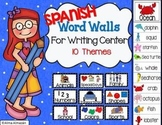 Word Walls for Writing Center Spanish
