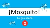 Spanish I Game:  Mosquito (Part II:  Colors, Clothes, Animals)