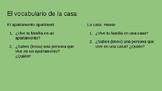 Spanish I La casa presentation