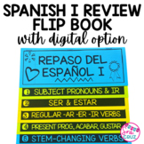 Spanish I Review Flip Book