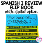 Spanish I Review Flip Book